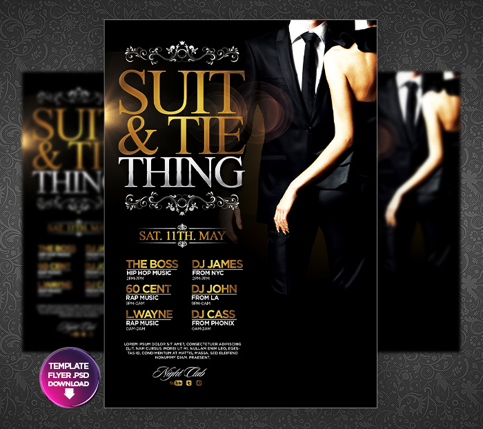 Prom Flyer Template Gallery Template Design Free Download