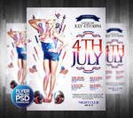 4Th July Party Poster Template