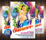Latin Summer Party Flyer Template