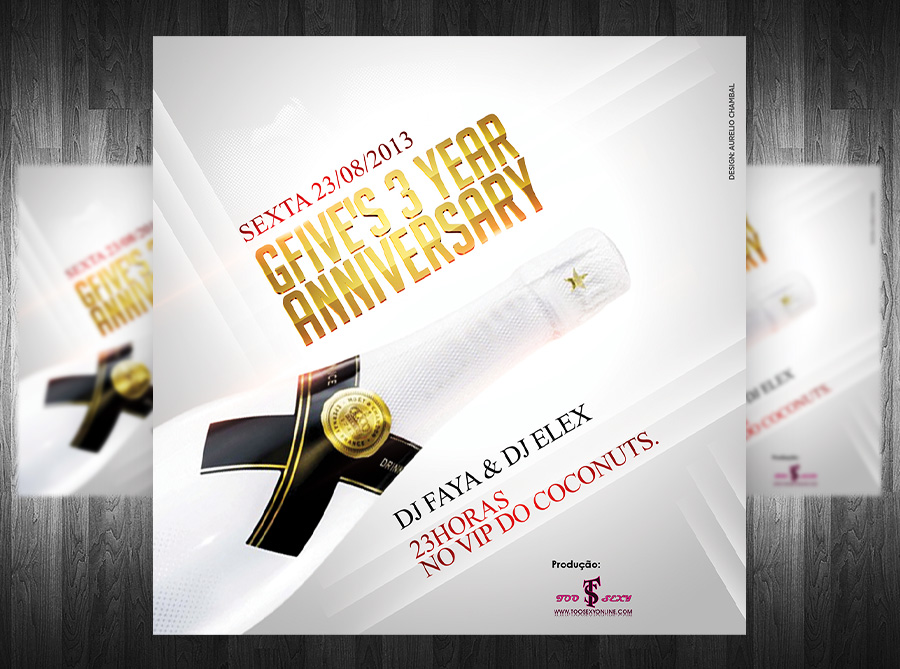 G5 Anniversary Party Flyer By Grandelelo