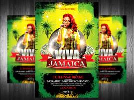 Viva Jamaica Flyer Template by Grandelelo