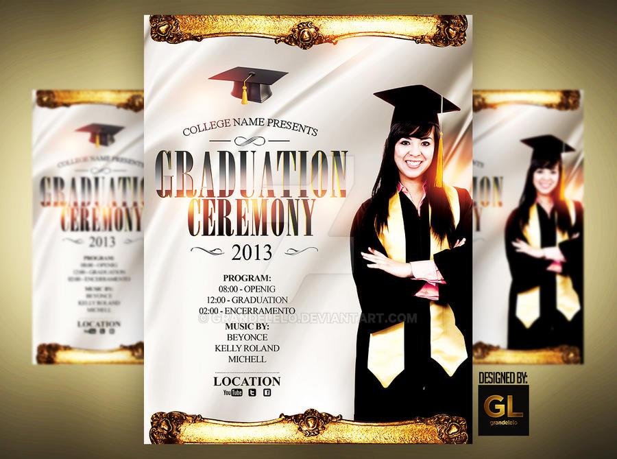 Graduation Event Poster By Grandelelo On Deviantart