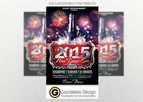 The 2015 NYE Flyer Template