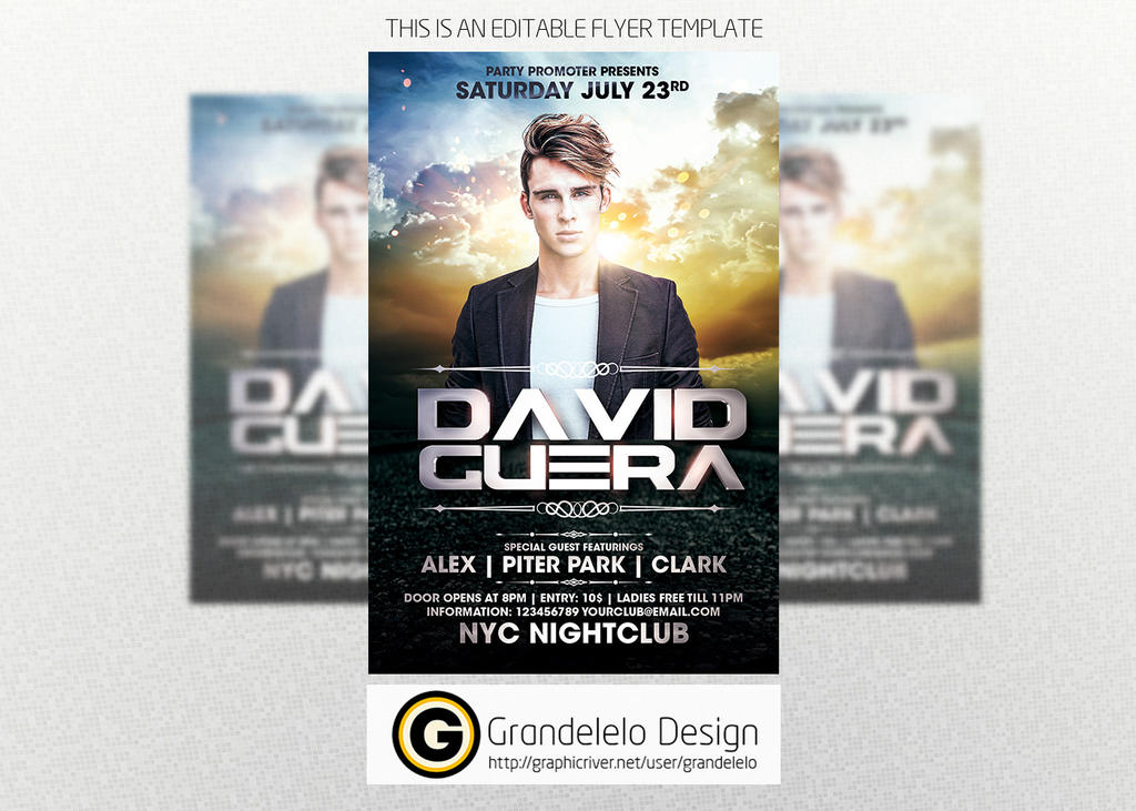 Special Guest DJ Template by Grandelelo