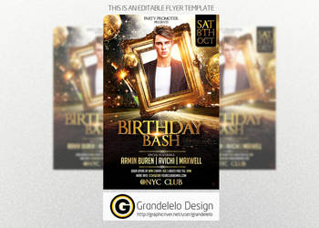 The Birthday Party Flyer Template