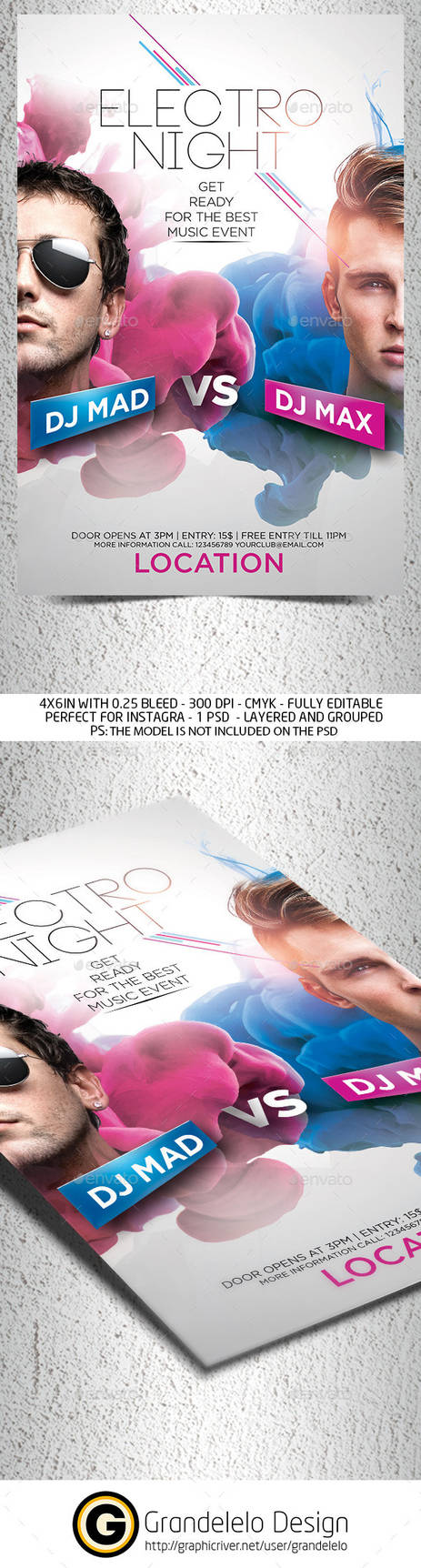 Dj Battle Party Flyer Template