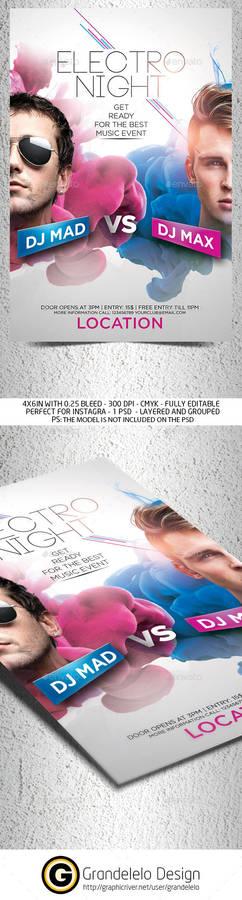 Dj Battle Party Flyer Template