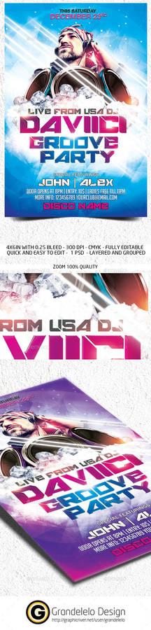 DJ Fest Flyer Template
