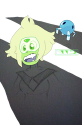kinda unfinished Peridot ^^ by JSHaseo