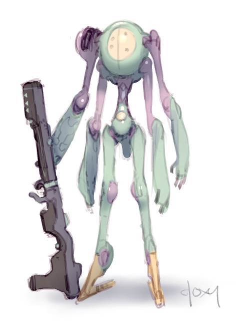 Gembots: Opal by mldoxy