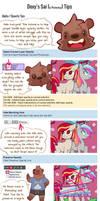 Doxy's Sai and Photoshop Tips 1