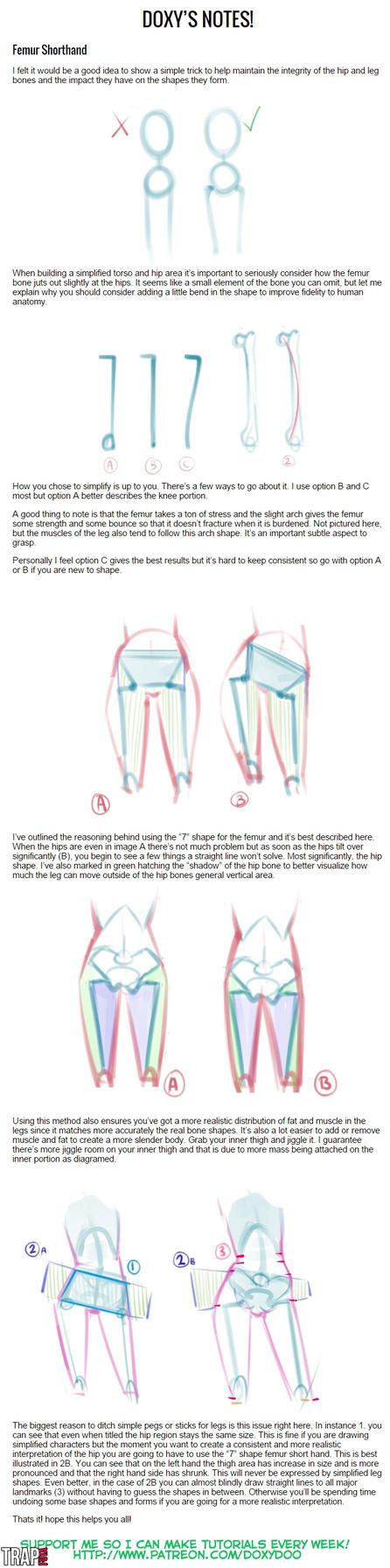 Femur Shorthand by mldoxy