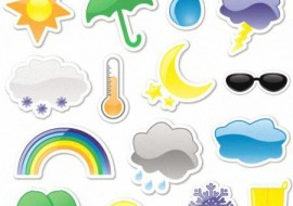 FREE WEATHER ICONS by doctorromantico