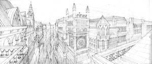 Gothic Architecture by ArtByGiuseppe
