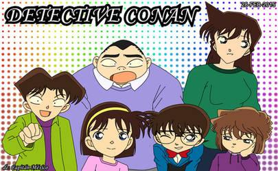 Detective Conan fanart by CaptainMexico