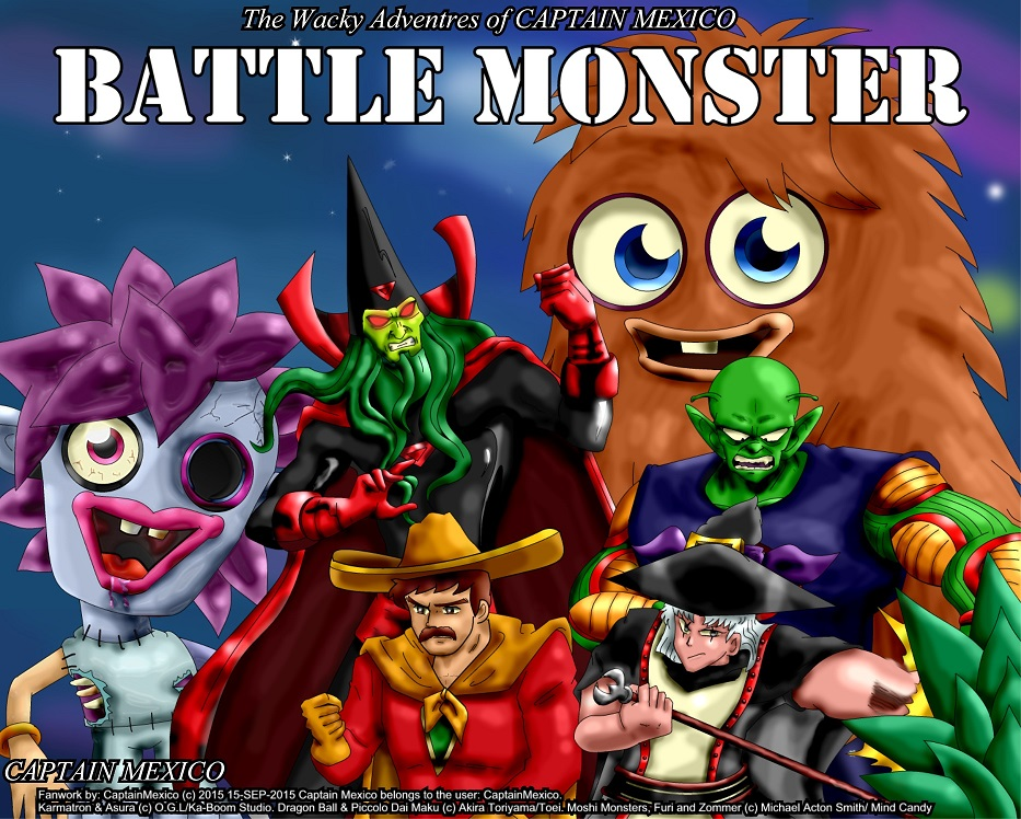 Battle Monster by CaptainMexico