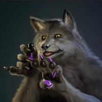 Werewolf Gril 4 by liminalbean