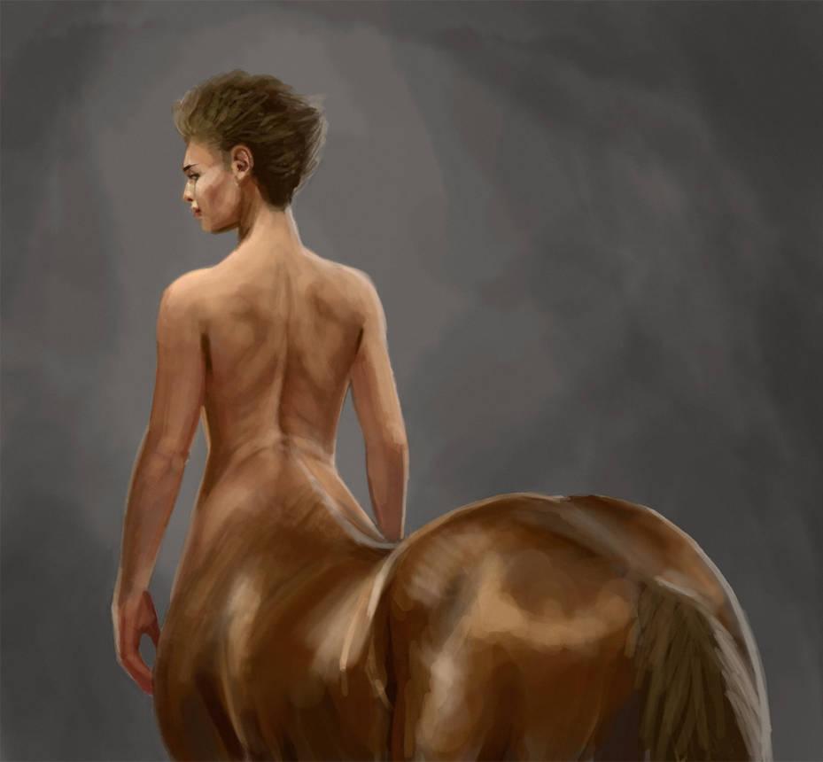 Centaur back study