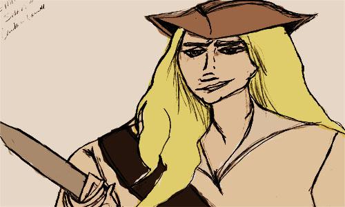 Piratey! Emma Swan by wittyheroine