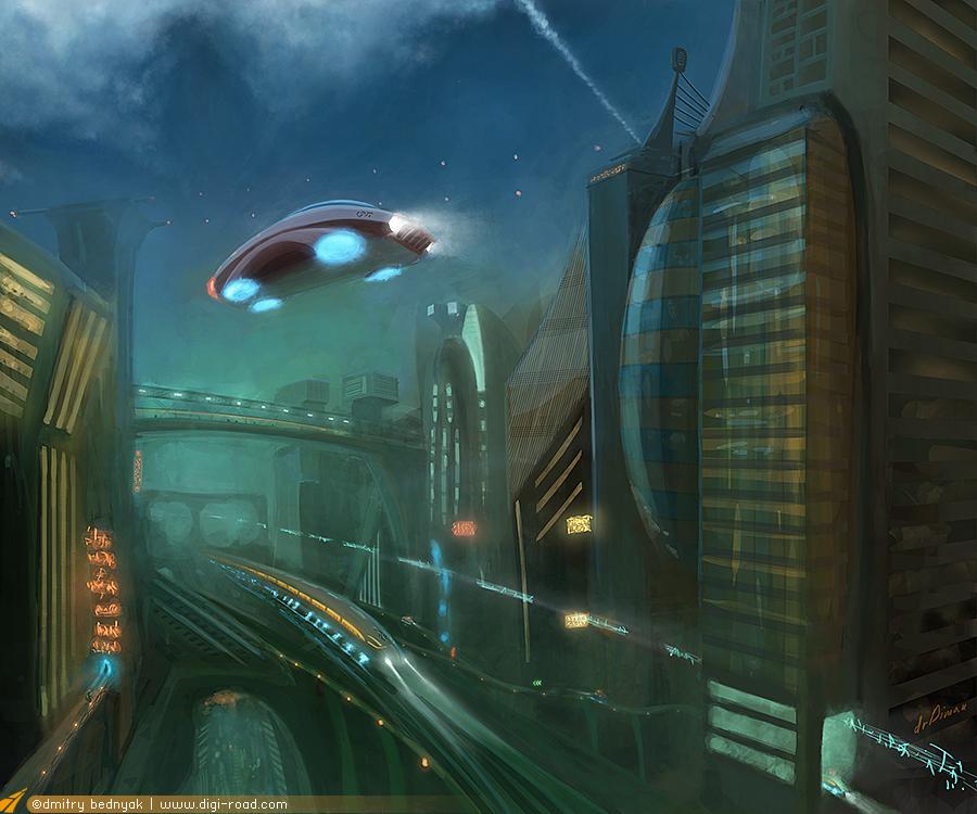 City N8 by drDiman