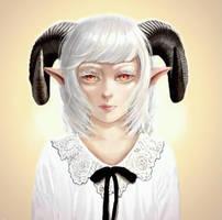 Demon girl by LaGonz