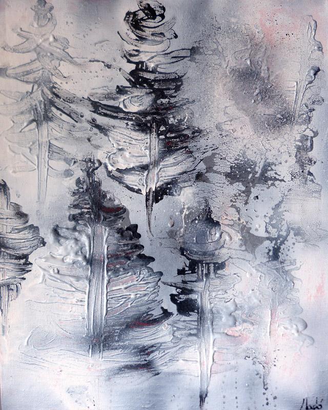 between snow and fog by JoanLlado
