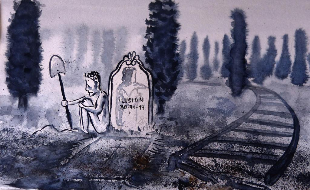 buried illusion by JoanLlado