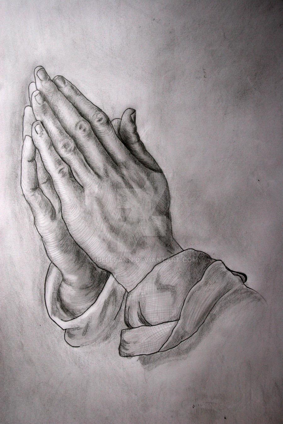 Albrecht Durer's Praying Hands by juelleann on DeviantArt