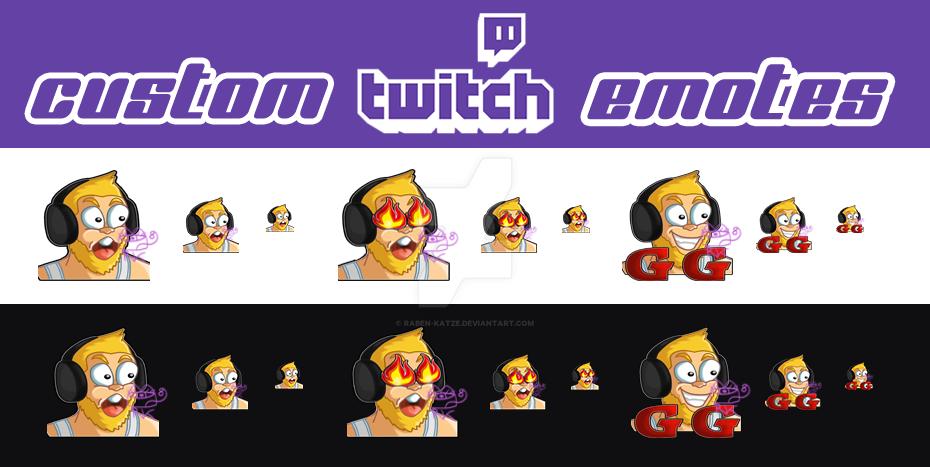 PPC] Custom Twitch Emotes 3 by Raben-Katze on DeviantArt