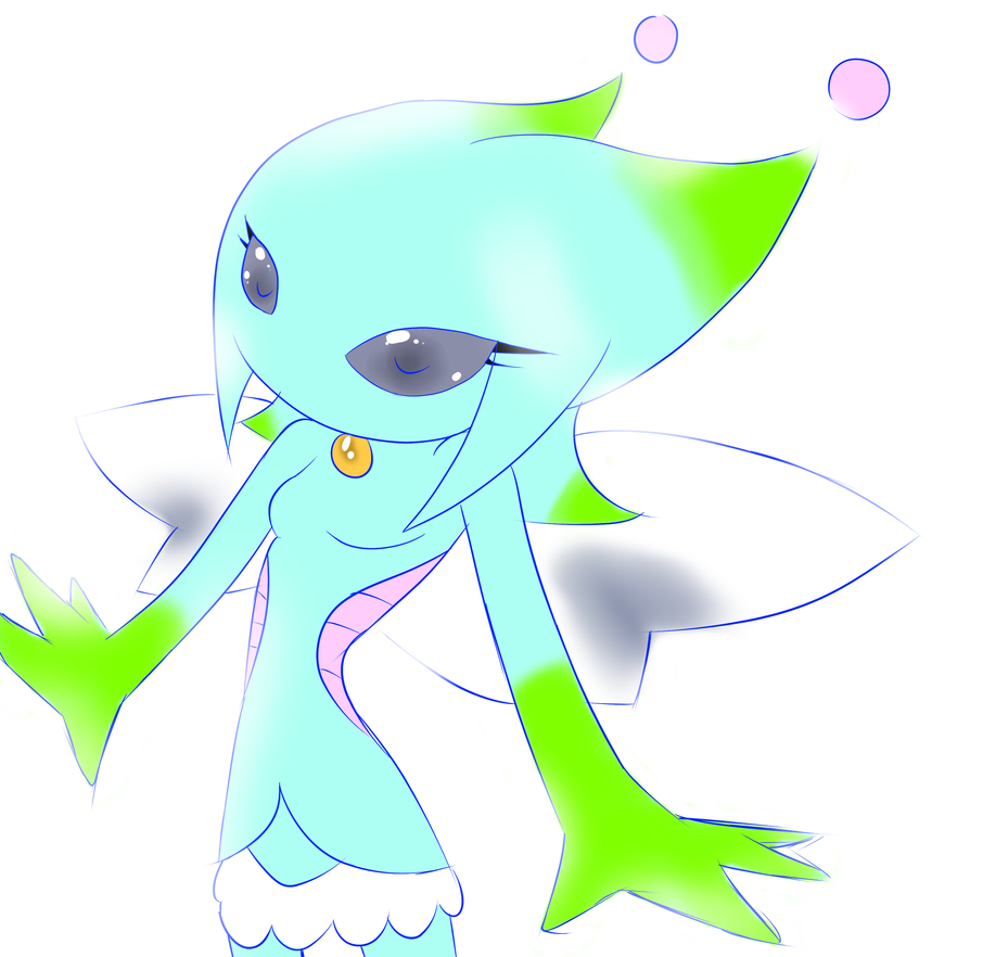 Sketch: Zipha the Alpha-Chao by Midnight-Kyon