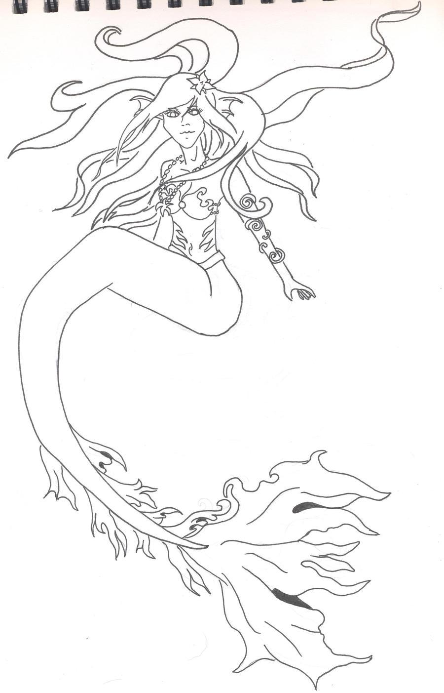 Mermaid by Libra-chan