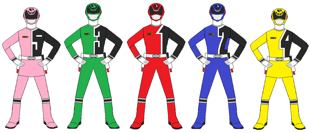 Power Rangers SPD Team by RangerForce510 on DeviantArt
