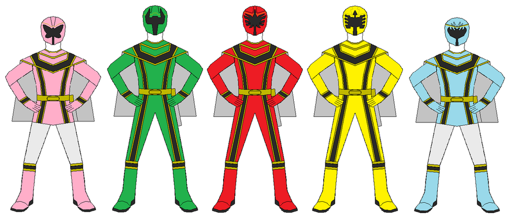 Power Rangers Mystic Force Team by RangerForce510 on