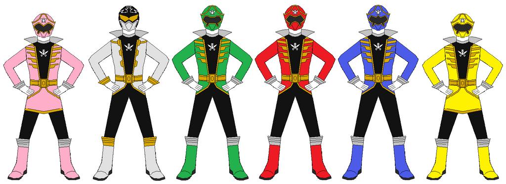 Power Rangers Super Megaforce Team by RangerForce510 on