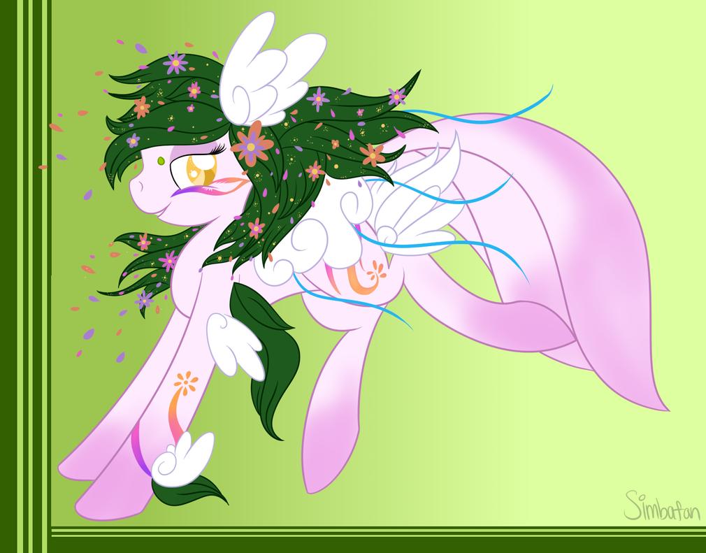 :COM: Flower Pony by spottie-dots