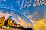 Chicago, Sunrise, Bubble