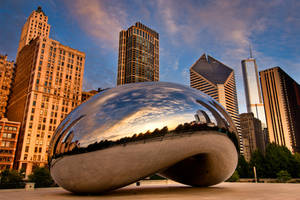 Chicago, Bean and Life by alierturk