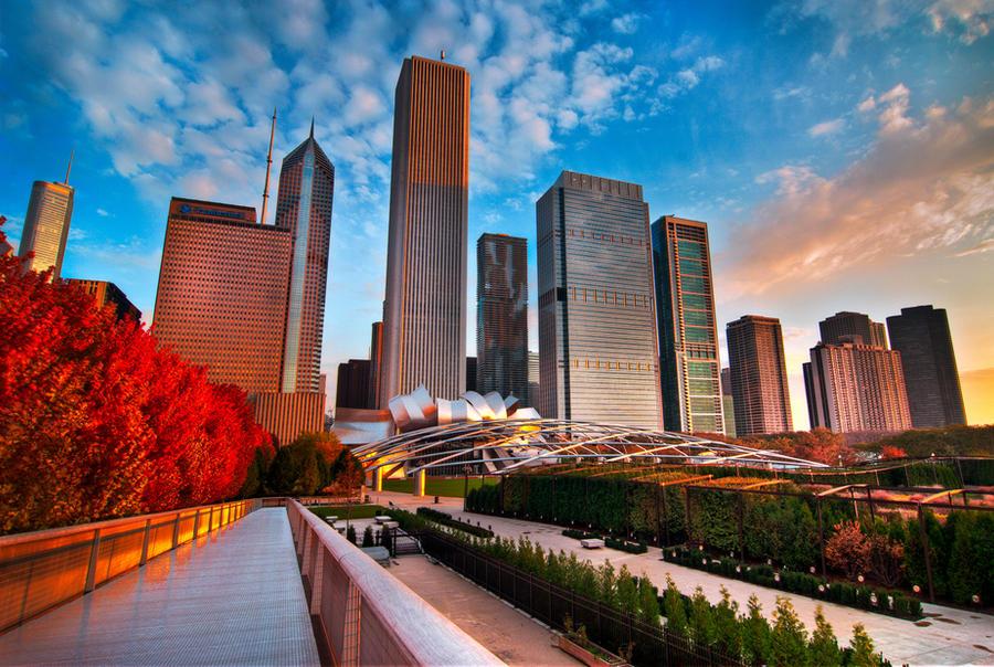 Chicago, Red walk