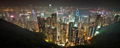 Hong Kong, Skyline II by alierturk