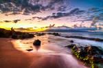 Hawaii, watching the sunset