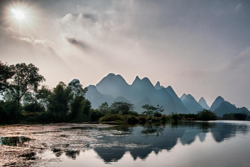 Yangshuo, Heavenly by alierturk