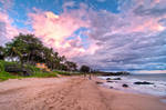 Maui, the colors of amazing sunset