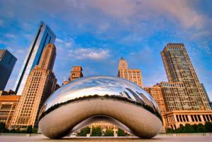 Chicago, The Bean Y by alierturk