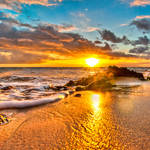 Hawaii, sunset