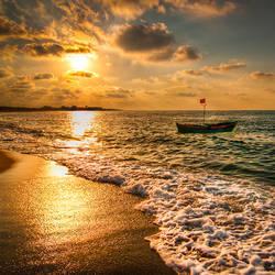 Karasu, sunset by alierturk