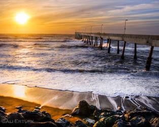 Pacifica, Sunset by alierturk