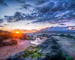 Maui, the path into sea