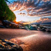 Hawaii, the reflection by alierturk