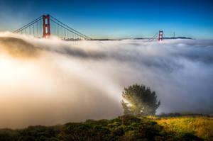 San Francisco, The Magic of Golden Gate by alierturk