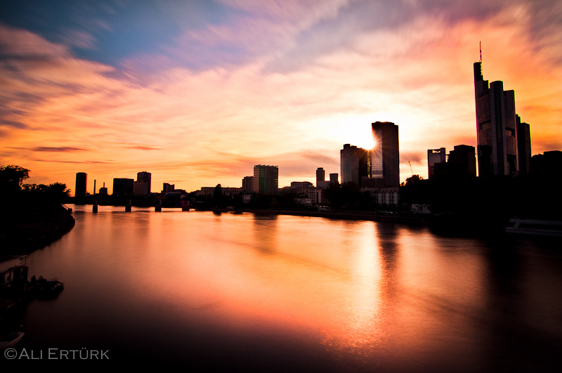 Frankfurt The River By Alierturk On DeviantArt - Frankfurt river
